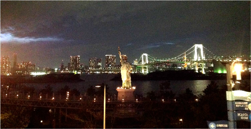 Tokyo night view from Odaiba